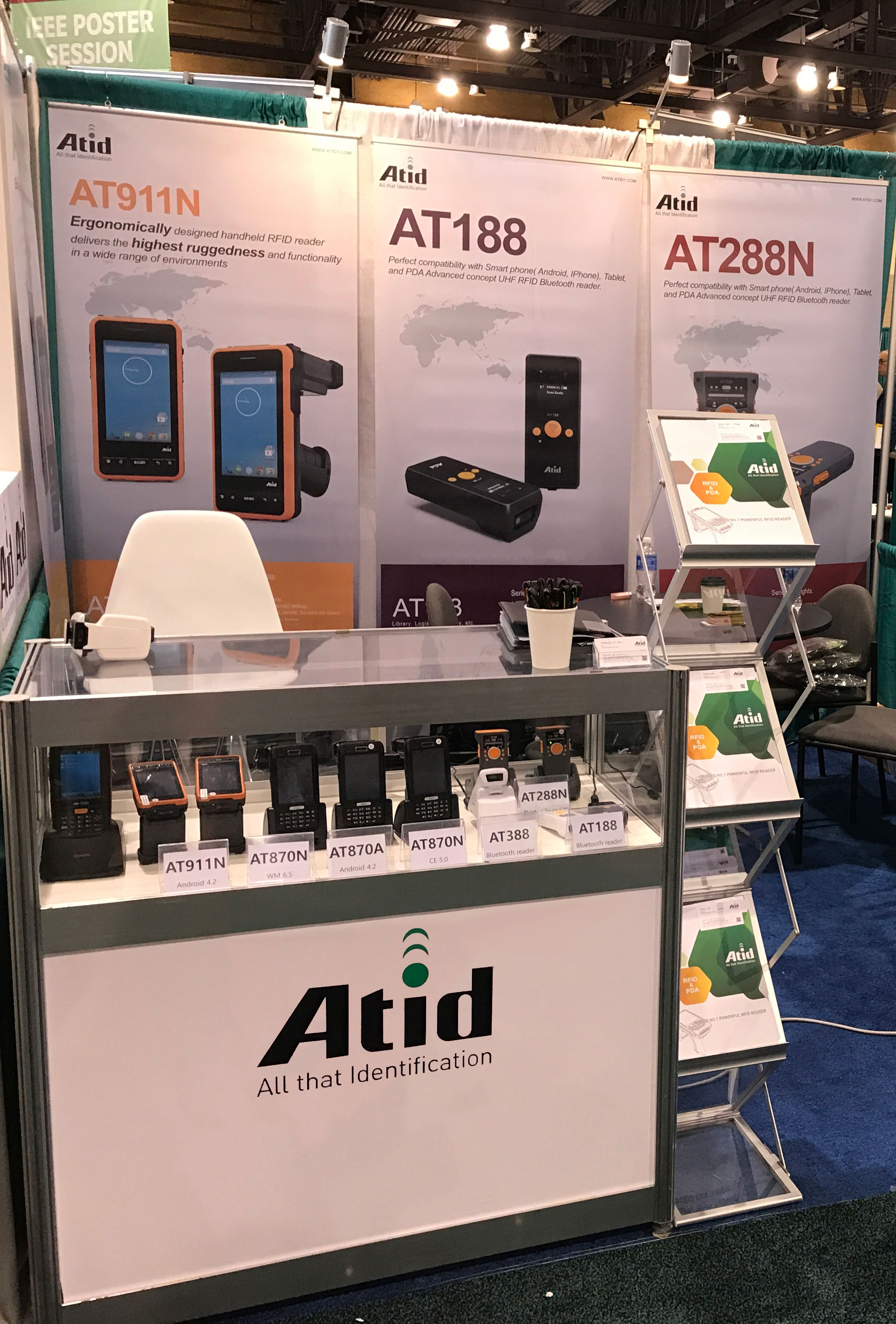 RFID Journal LIVE! 2017 Atid booth