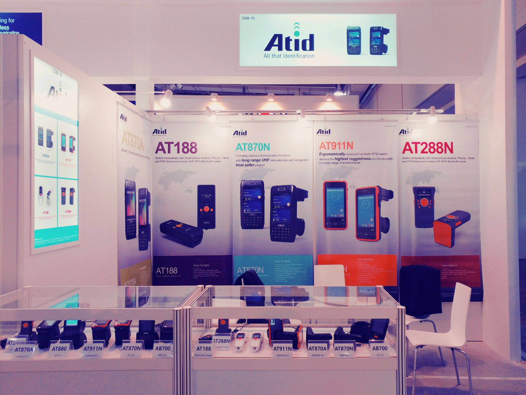 CeBIT 2017 Germany Atid booth