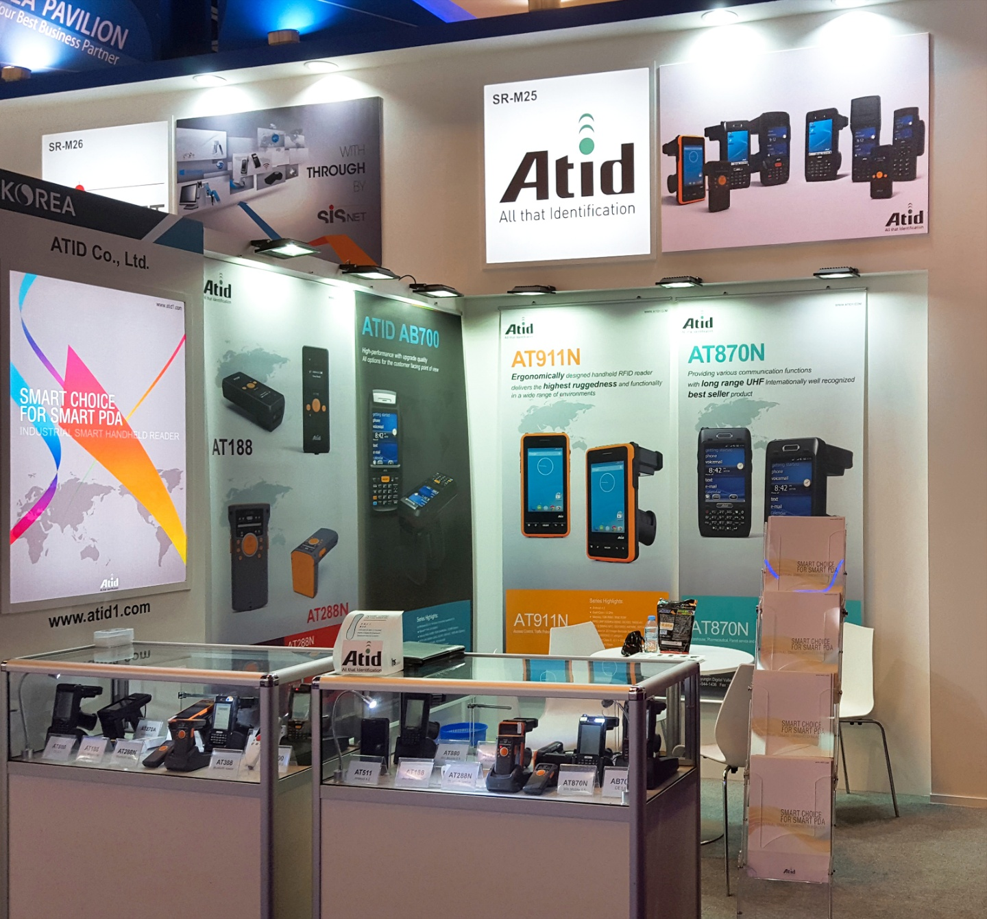 2016 GITEX TECHNOLOGY WEEK Atid booth