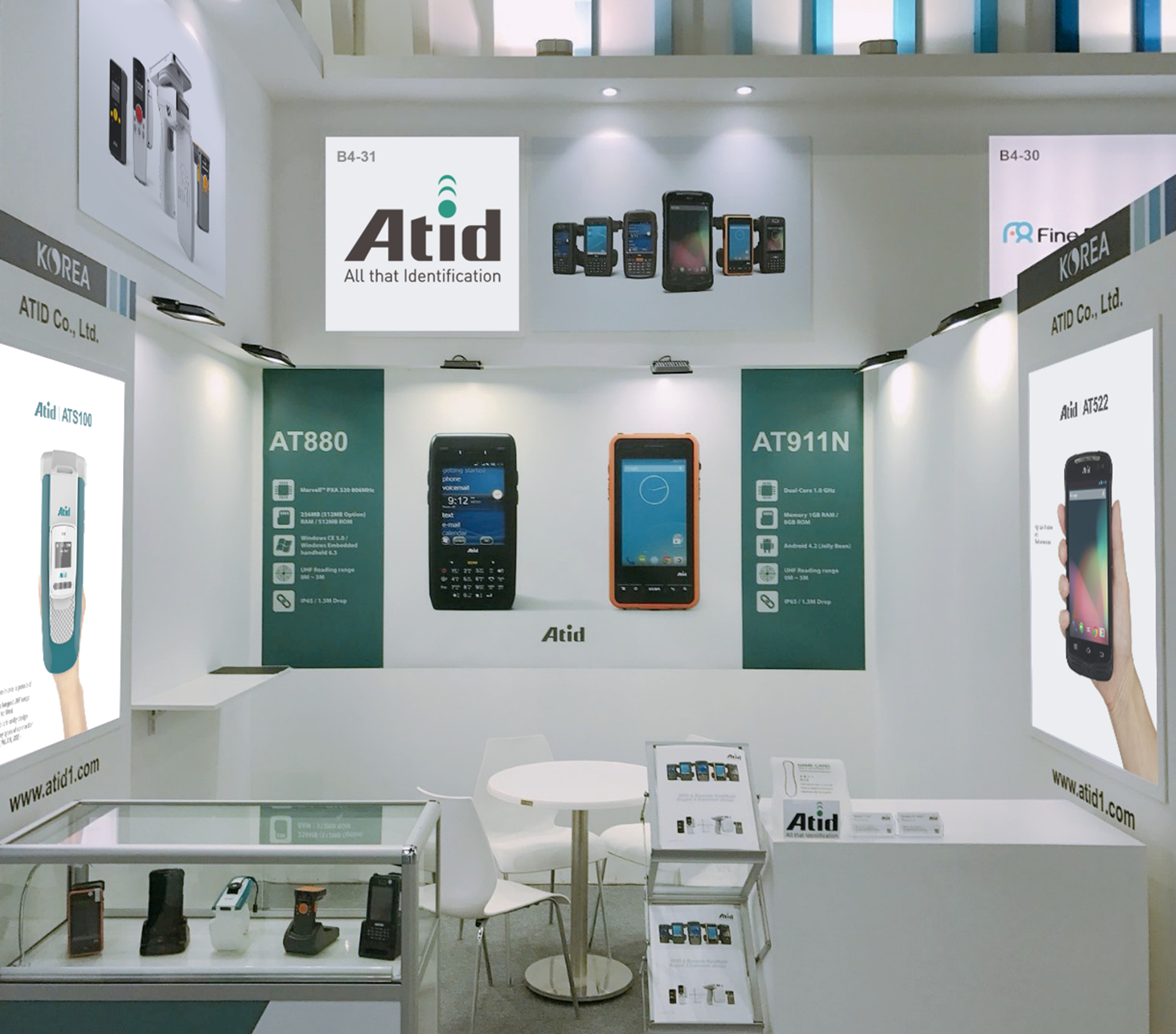 2017 GITEX TECHNOLOGY WEEK Atid booth
